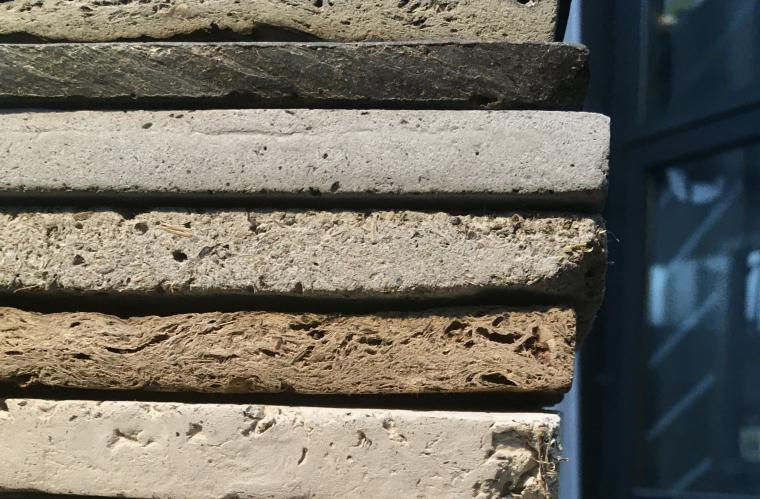 Dungse - new-building materials created out of cow dung