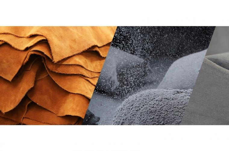 Creating high-end sustainable design coatings and finishing's based on waste materials